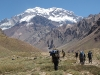 Trek to Confluencia Camp