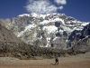 Southern Wall of Mt Aconcagua